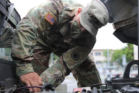 Camp Zama Soldier Takes pride in Job as Army Mechanic