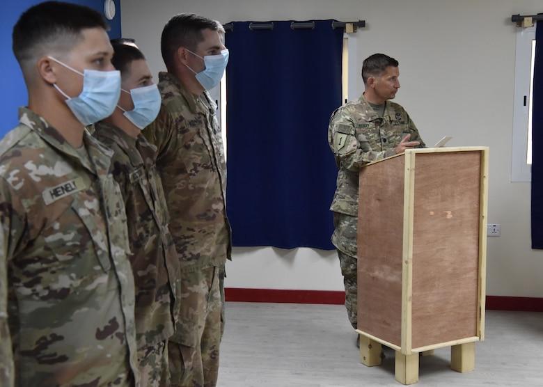 4-5 ADA Battalion Change of Command