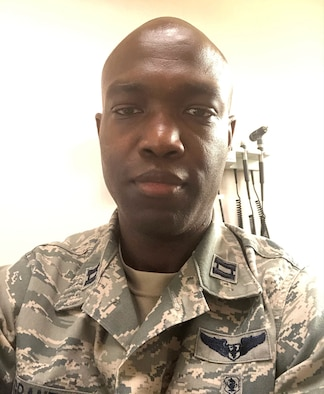 U.S. Air Force Capt. Keith Grant, 439th Aerospace Medical Squadron flight medicine provider, works as a Senior Assistant Director in infection prevention for Hartford Healthcare in Connecticut. (Courtesy photo)