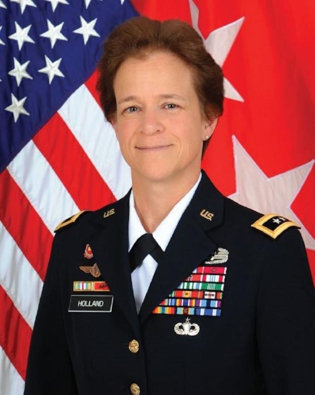 Maj. Gen. Diana Holland, Mississippi Valley Division Commanding General
