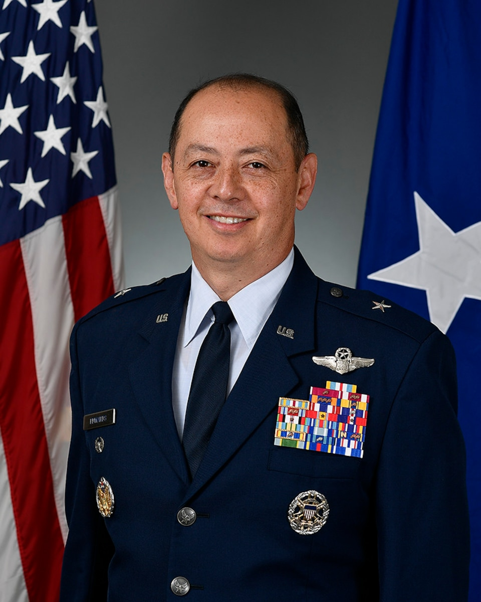 This is the official portrait of Brig. Gen. John R. Edwards.