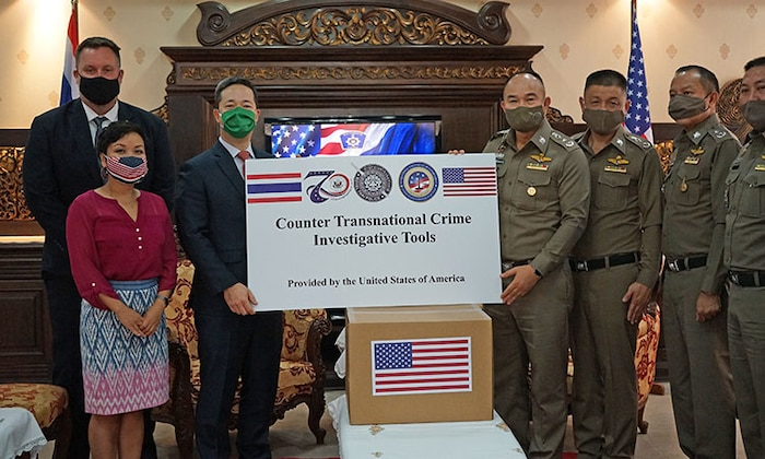 U.S. Government Commits to Countering Transnational Crime with Royal Thai Government