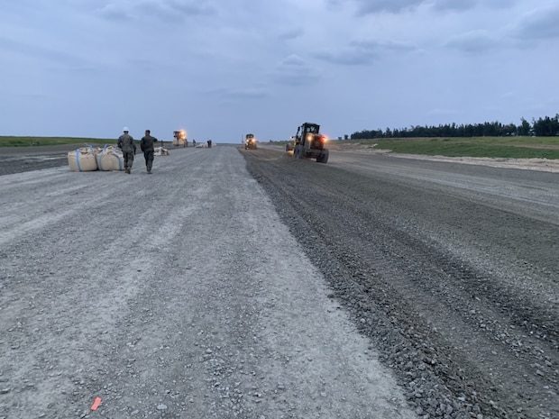 Naval Mobile Construction Battalion 5 Supports Ie Shima Training Facility Repairs