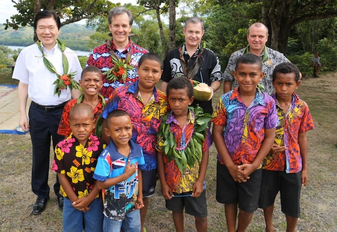 Heads of Mission Visit Western Division for Talanoa Sessions