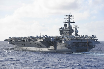 Nimitz, Reagan Team Up, Advance International Rules-Based Order