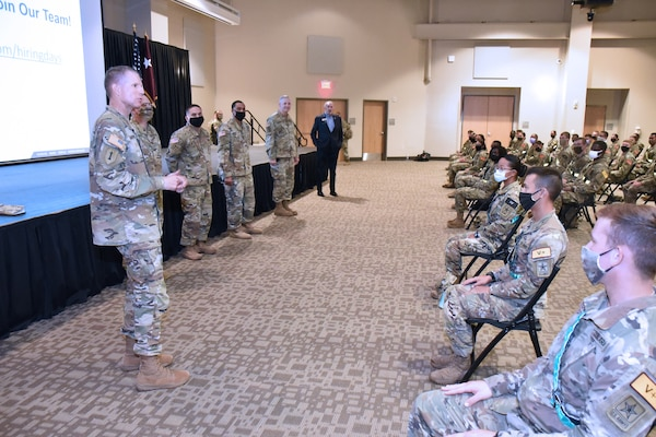 MEDCoE Army National Hiring Days Soldier Forum