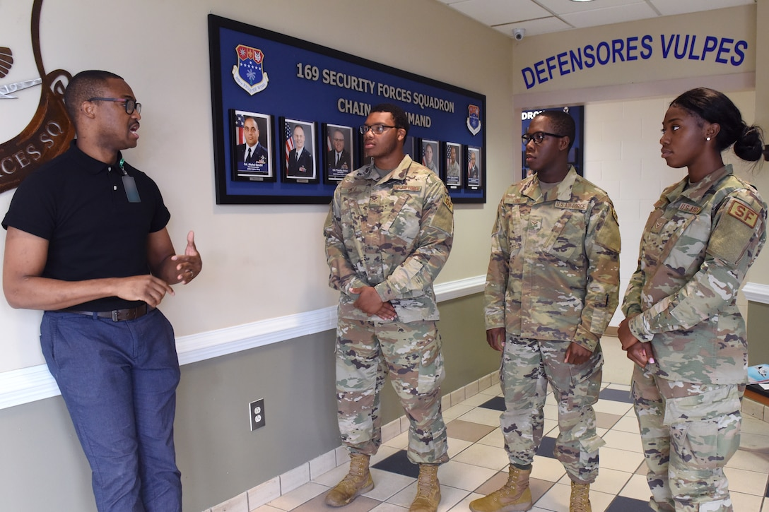 Mr. Rico Brown, newly appointed Director of Psychological Health for the South Carolina Air National Guard at McEntire Joint National Guard Base,