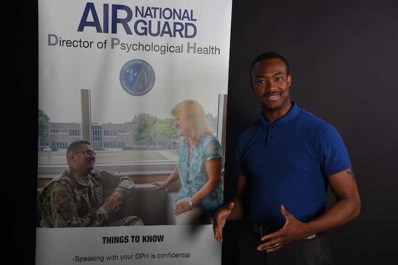 Resilience is the focus of Rico Brown, the new director of psychological health for the South Carolina Air National Guard at McEntire Joint National Guard Base, June 24, 2020.