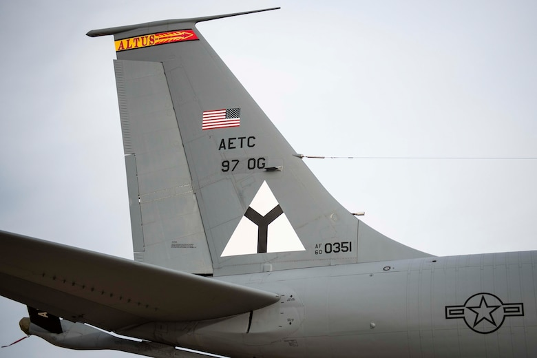 Historic Y on aircraft.