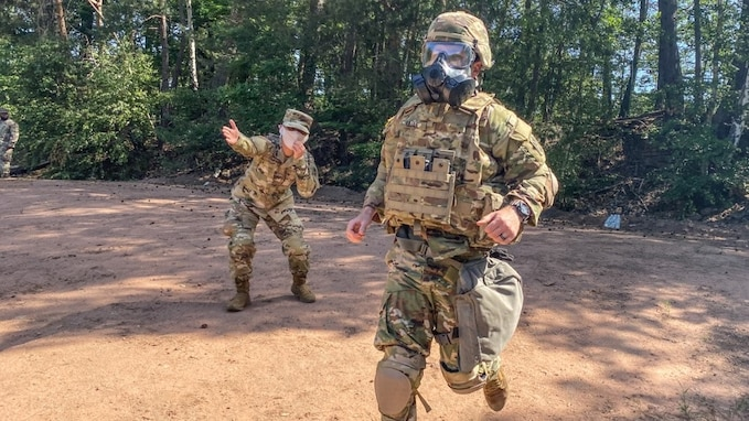 Nine soldiers from across the 10th Army Air and Missile Defense Command's formation competed in the grueling European Best Defender Competition (EBDC) testing their professionalism, tactical proficiency, mental and physical toughness at Rhine Ordnance Barracks June 1-5.