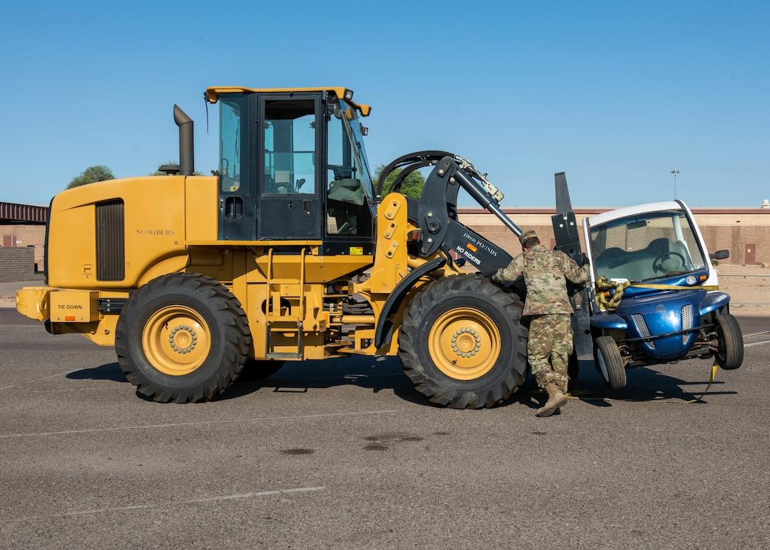 56th LRS transport equipment