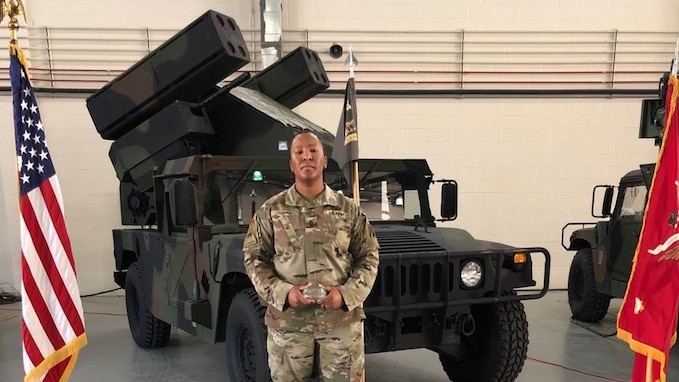 KATTERBACH, Germany-- On April 16, 2020 at Fort Sill, Oklahoma, the Air Defense Artillery Avenger Master Gunner Course graduated its latest class of nine students, one of which made history. Staff Sgt. Tiana Trent, a native of Canton Ohio, is celebrated as the first African-American female to attend and complete the course since its origin.