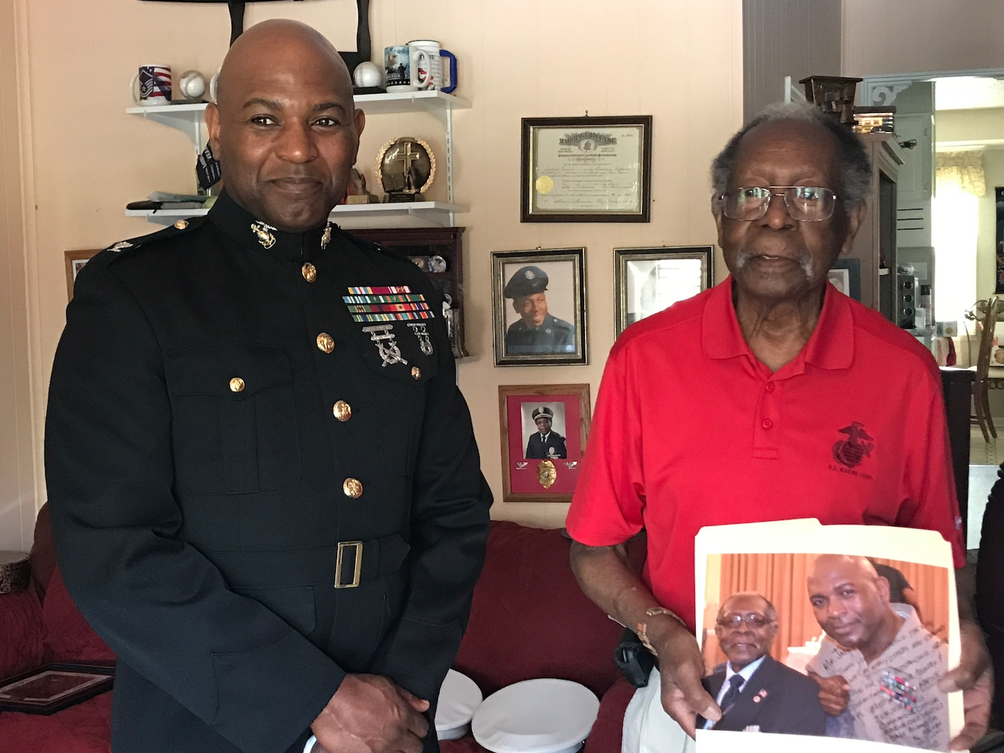 For a young man who grew up in Dayton, Ohio, and enlisted in the Marine Corps, he never imagined his path would end 33 years later as the commanding officer of Marine Corps Logistics Base Albany.