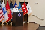 Jones relinquishes command via virtual ceremony at DLA Distribution Headquarters