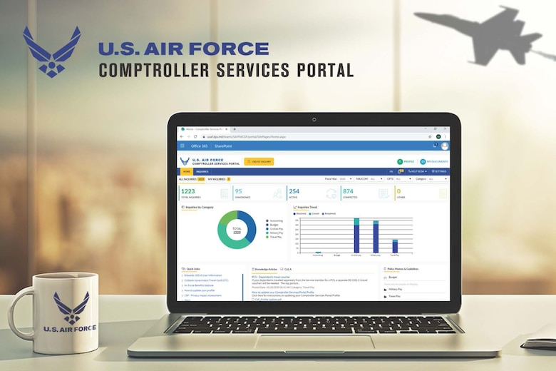 The 341st Comptroller Squadron is implementing a new program called the Comptroller Services Portal.