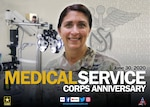 The U.S. Army Medical Service Corps was formally established in 1947, however corps officers celebrate the anniversary of their corps on June 30, 1917. The Medical Service Corps began during the American Revolution and today, includes officers in a wide variety of administrative and scientific specialties.