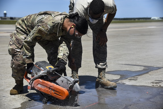 Misawa Airmen Enhance ACE Capabilities, Learn New Skills and Repair Runway