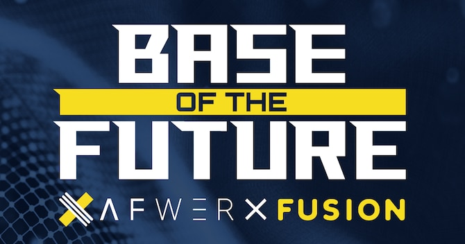 AFWERX, the U.S. Air Force's innovation arm and catalyst for fostering innovation within the Air Force, announced registration is now live for the AFWERX Fusion 2020 Base of the Future virtual event, July 28 to 30. The event will feature more than 300 teams from the public and private sector participating in the Base of the Future Showcase to present their innovative solutions to Air Force leadership and key military decision-makers and operators. (AFWERX courtesy graphic)