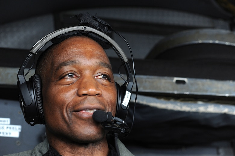 Col. Patrick Campbell, who recently served as the 94th Operations Group commander, navigates during his final flight of his 34-year career on June 24, 2020 at Dobbins Air Reserve Base, Ga. The colonel, who turned 62 this month, successfully applied for an age waiver to stay in the Air Force until the age of 62. He officially retired yesterday. (U.S. Air Force photo/Airman 1st Class Kendra Ransum)