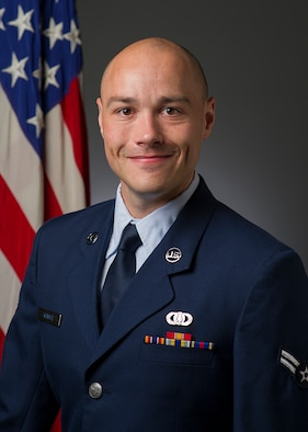 Official Photo of A1C Brian Kemble