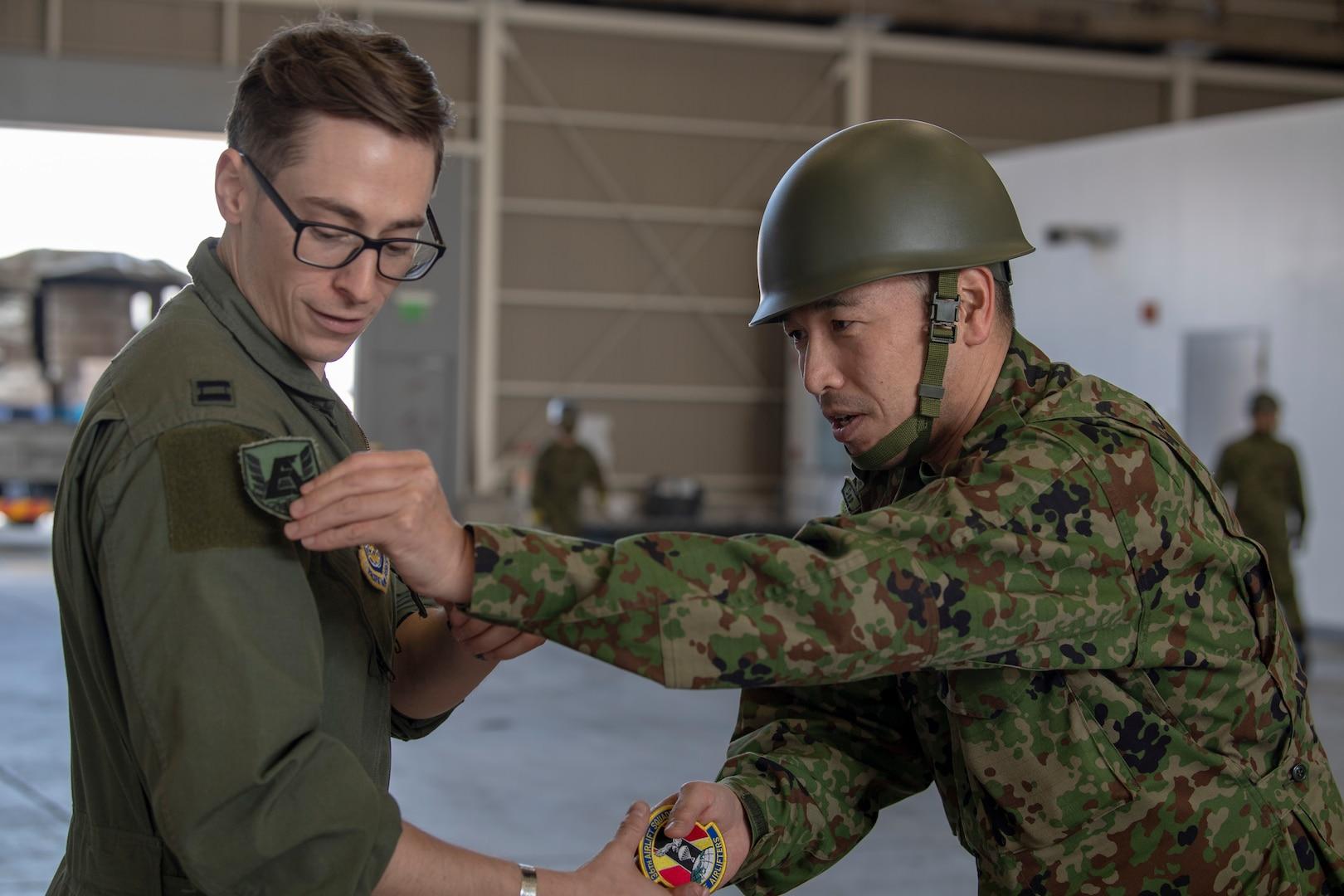 U.S., Japan Ground Self-Defense Force Team Up for Humanitarian Exercise in Komaki
