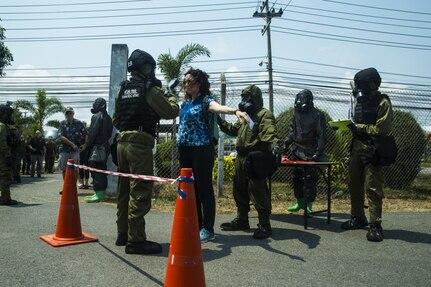 Cobra Gold: Partner Nations Practice Noncombatant Evacuation Operations