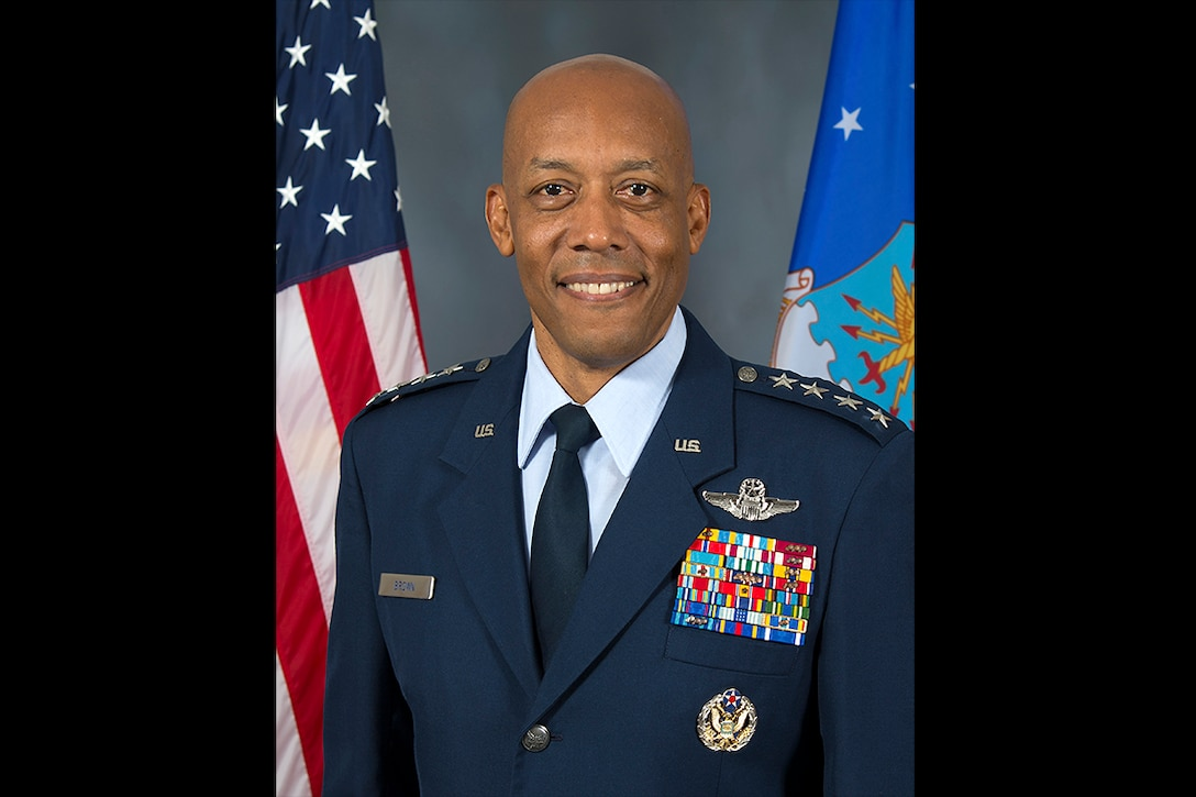 Gen. Charles Q. (CQ) Brown, Jr., the commander of Pacific Air Forces, a decorated pilot who has held key commands and served as a military advisor at the highest levels, has been nominated to serve as the Air Force's 22nd Chief of Staff, Secretary of Defense Mark T. Esper announced March 2, 2020. (U.S. Air Force courtesy photo)