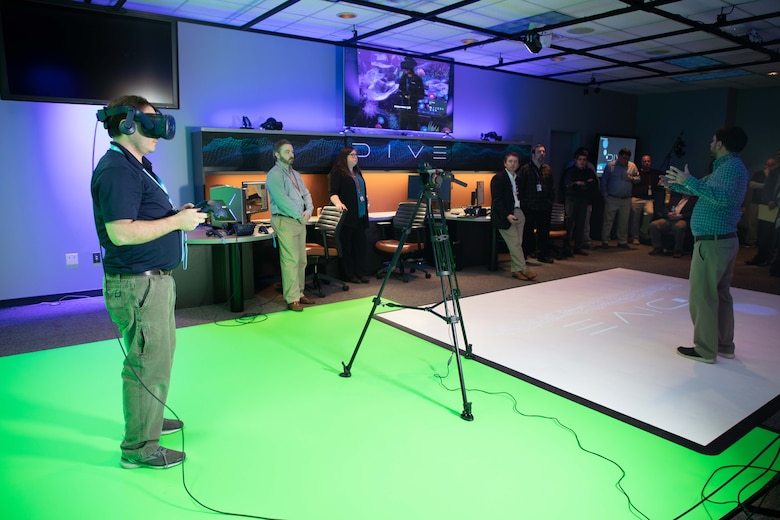 The Information Technology Laboratory's newest facility will make you feel like you've traveled forward in time. The Dynamic Immersive Virtual Environment (DIVE) laboratory allows researchers to test and develop solutions for the Department of Defense using leading augmented and virtual reality (AR/VR) gear. The rise of this technology has already changed the way we work and learn, and it will now be used to allow Army engineers, scientists, and stakeholders to immerse themselves in true scale, 3D environments.