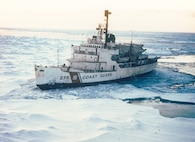 A scan of a photo of USCGC Staten Island.