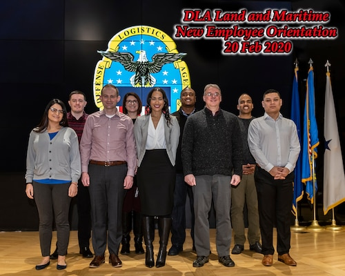 Group photo of February 2020 New Employees
