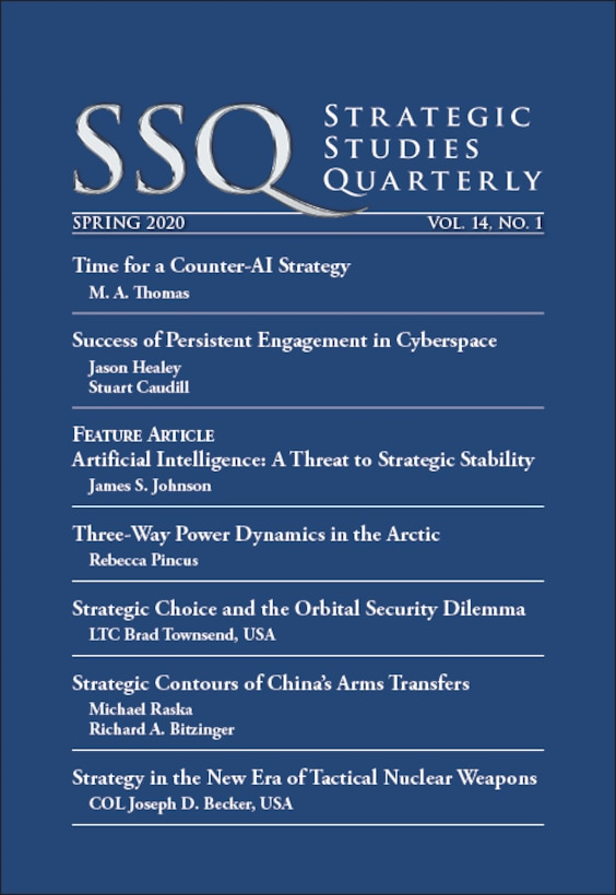 Air University Press releases spring 2020 edition of SSQ. ( Courtesy Graphic)