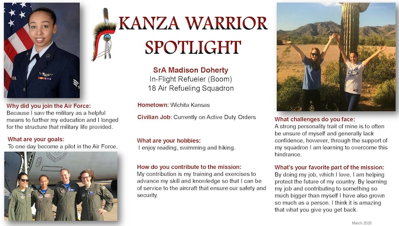 March 2020 KANZA Warrior Spotlight