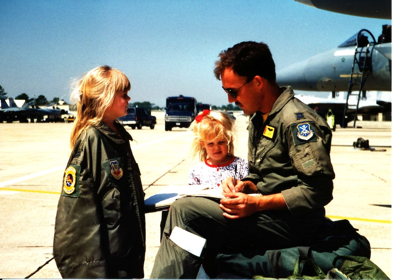 A family photo of Capt. Kristin Wolfe
