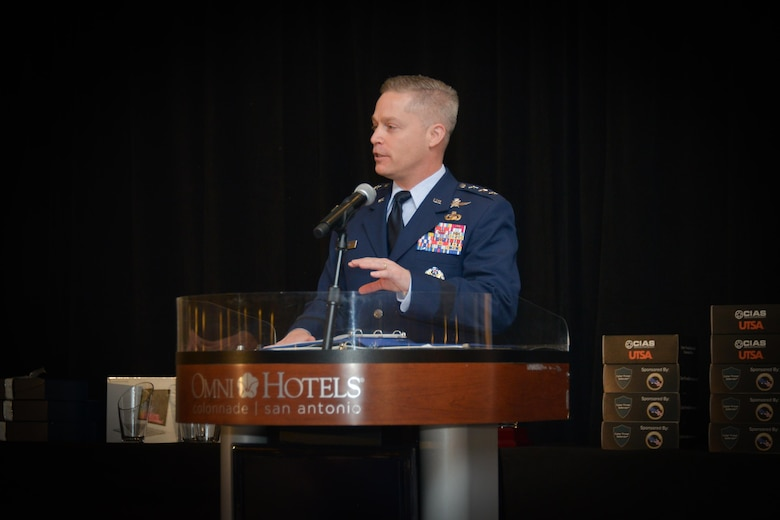 Sixteenth Air Force participates in San Antonio Mayor's CyberCup College Fair
