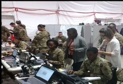 SDDC Reserve units conduct systems-focused mission rehearsal exercise