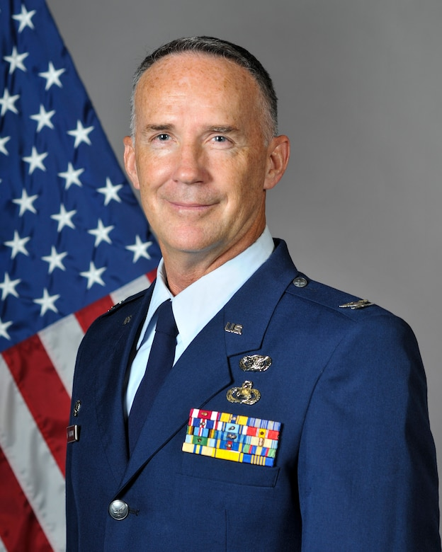 Col. Dave Johnston, 144th Mission Support Group Commander