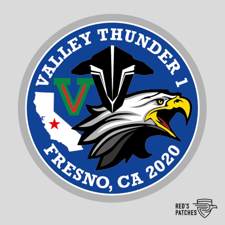 Proposed Fighter Pilot Patch for Valley Thunder training exercise.