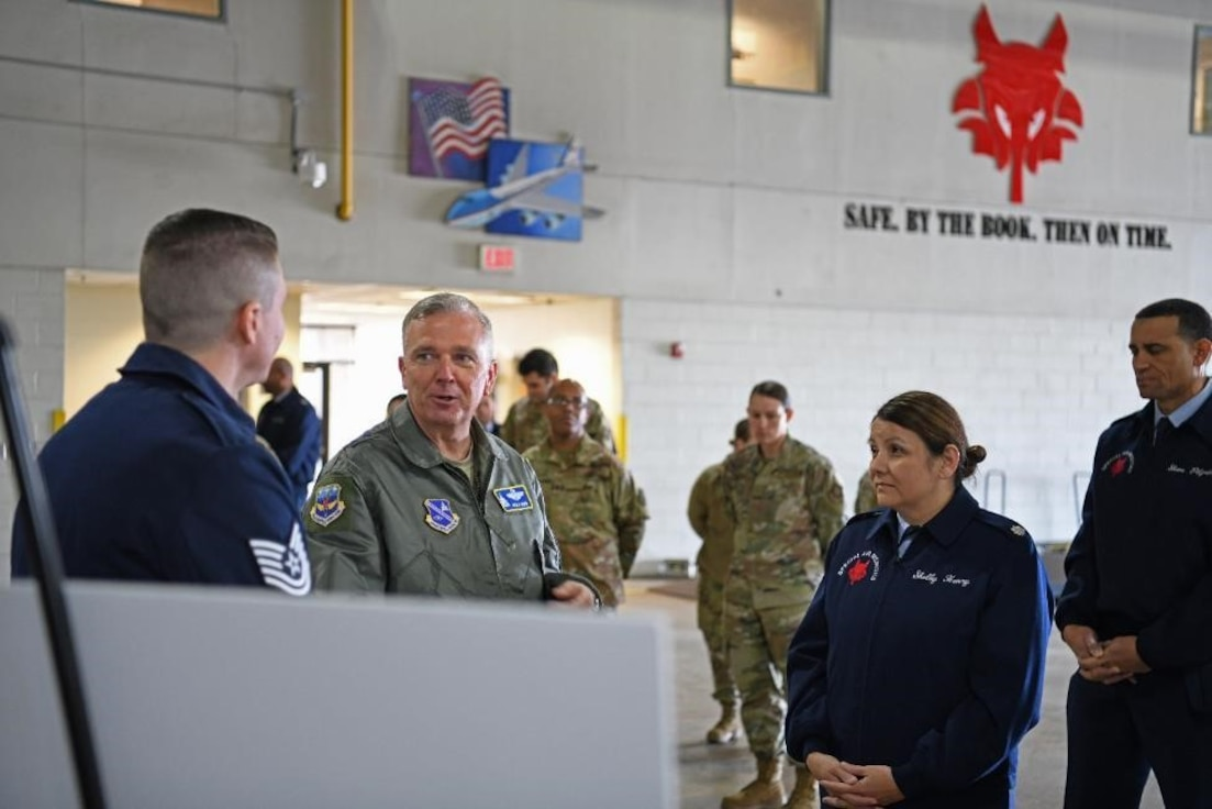 89th Airlift Wing Immersion Tour showcases its super cool Special Air Mission