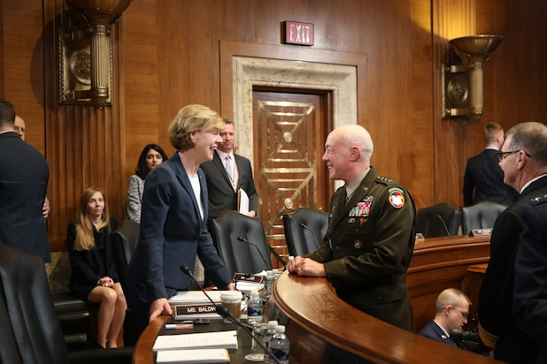 Lt. Gen. Luckey testifies before Senate Committee on Appropriations