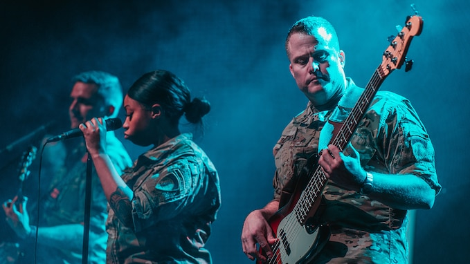 U.S. Army Europe rock band launches DEFENDER-Europe 20 outreach tour