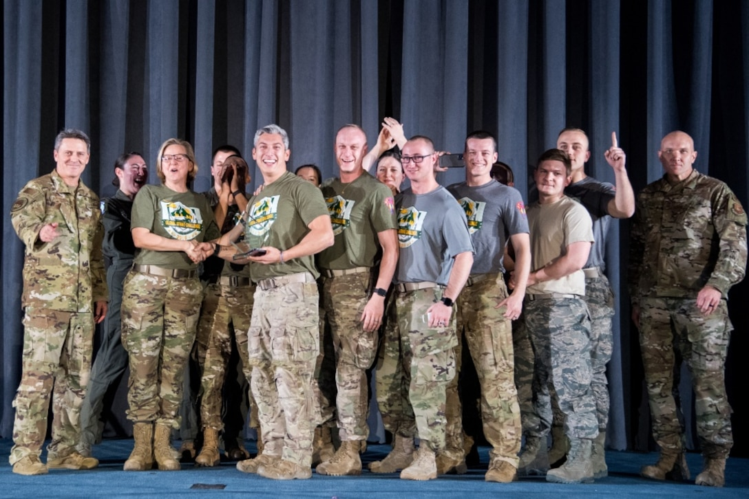 The award for best Security Forces Tactics Team was given to the 341st Missile Wing, Malmstrom Air Force Base, Mont., during the 2019 Global Strike Challenge score posting.