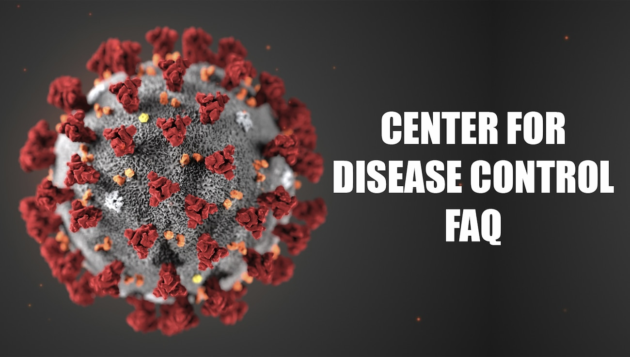 Center for Disease Control FAQ Graphic