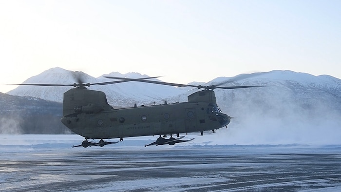 New Hampshire's 12th Civil Support Team Trains in Frigid Alaskan Weather