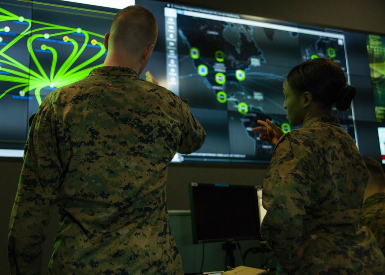 Marines in cyber operations
