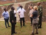 CJTF-HOA's 411th CA, RDF assess health practices at Rwandan border posts