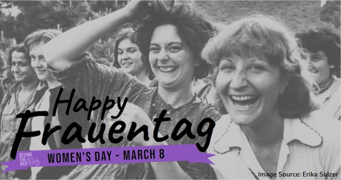 """""""Frauentag"""" translates to """"Frauen"""" meaning women and """"tag"""" meaning day. It is an observance celebrated in varying households across German states on March 8th every year."""