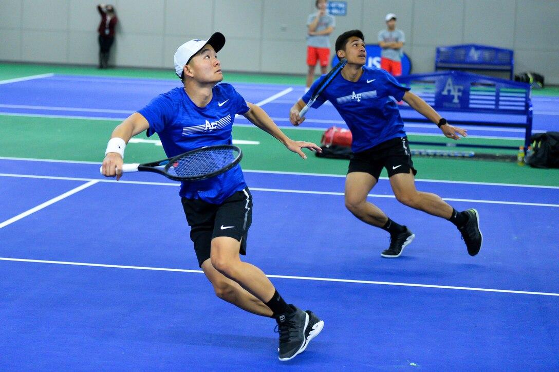 U.S. Air Force Academy cadet tennis doubles partners