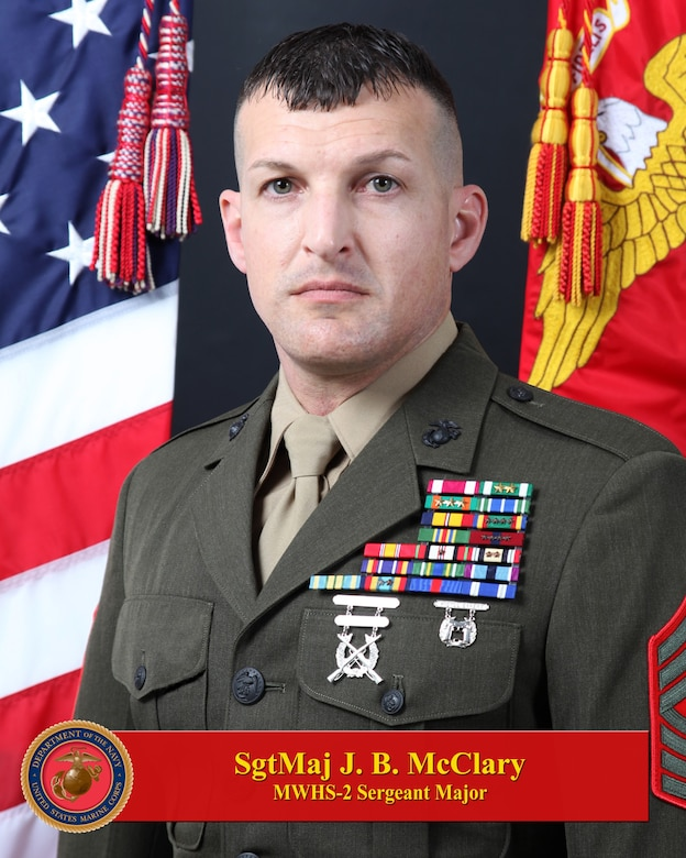 Sergeant Major Jonathan B. McClary