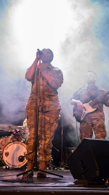 U.S. Army Europe rock band, DEFENDER-Europe 20 outreach tour