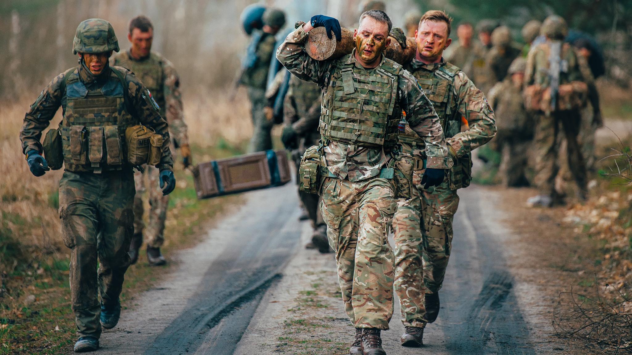British Army's • Combat Fitness • Poland 2020